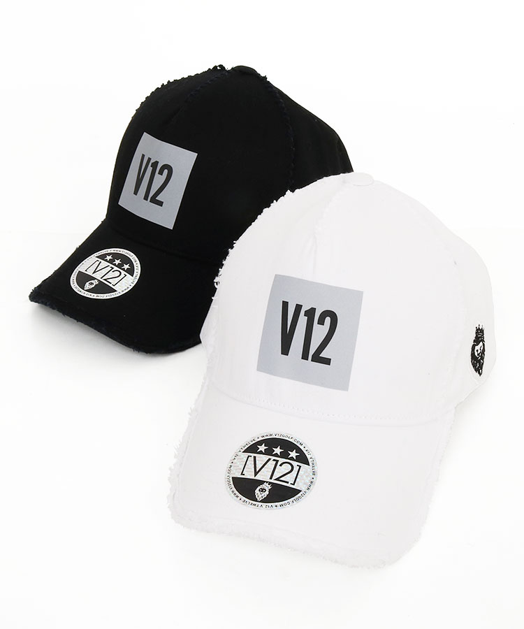ヴィトゥエルヴ VI 「V12」BOXロゴ◆ダメージ風キャップ