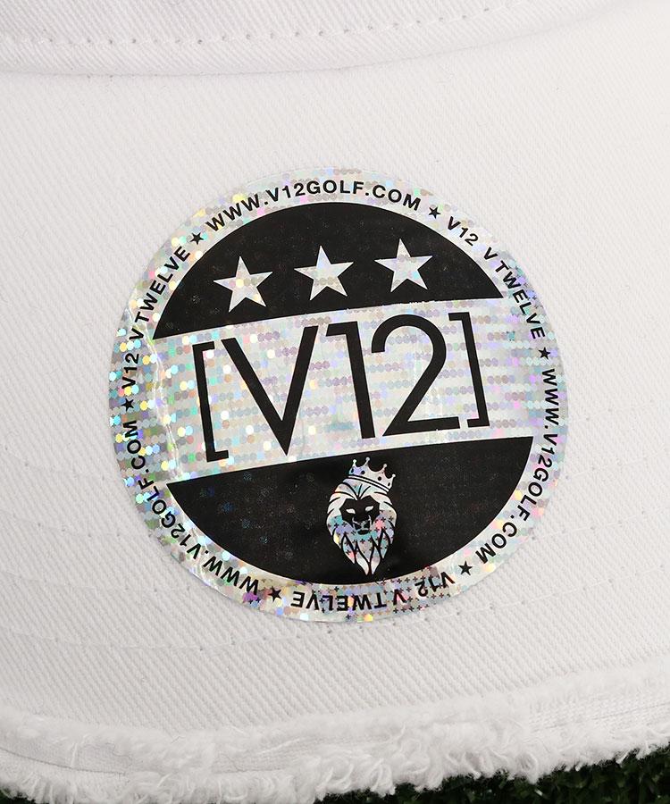 VI 「V12」BOXロゴ◆ダメージ風キャップのコーディネート写真