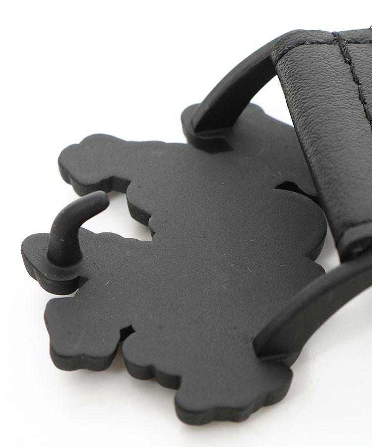 AM ロゴ型バックル◆合皮ベルトのコーディネート写真