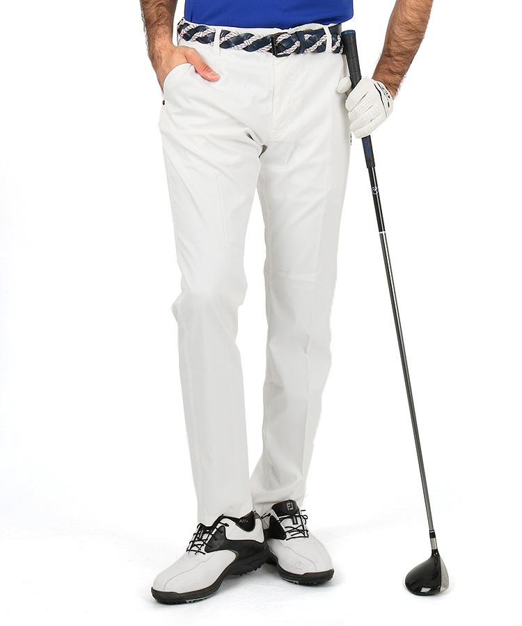 アドミラルゴルフ AM UJベルトループ刺繍◆吸放湿パンツ