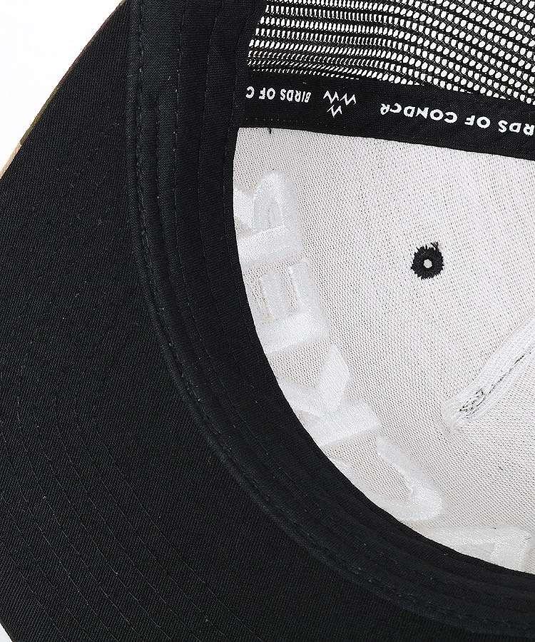 BC HACKERカモフラ切替メッシュキャップのコーディネート写真