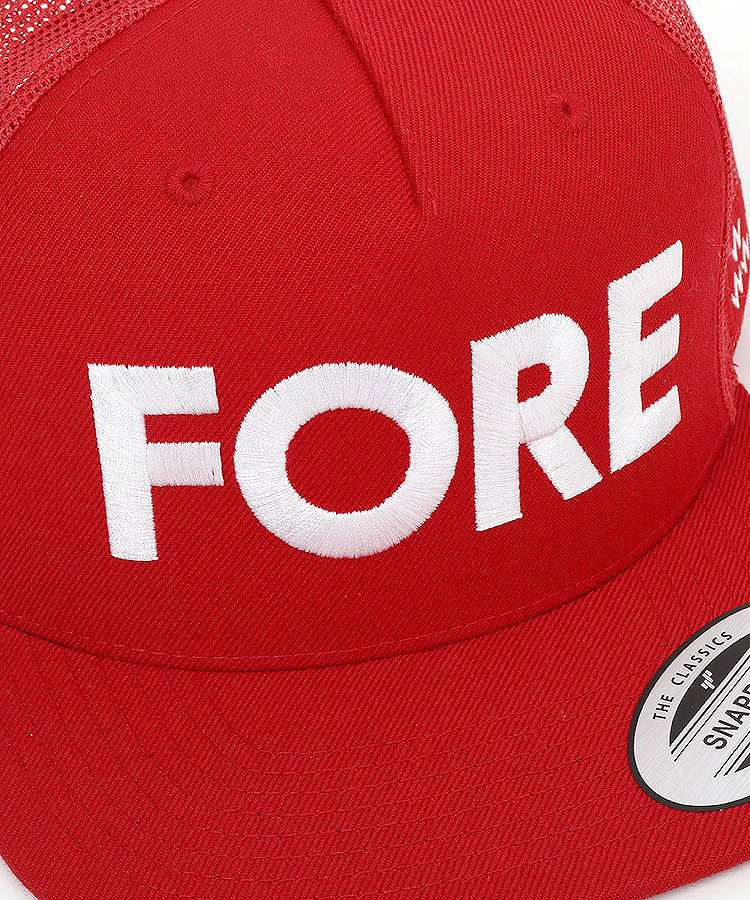 BC FORE◆平つばメッシュキャップのコーディネート写真