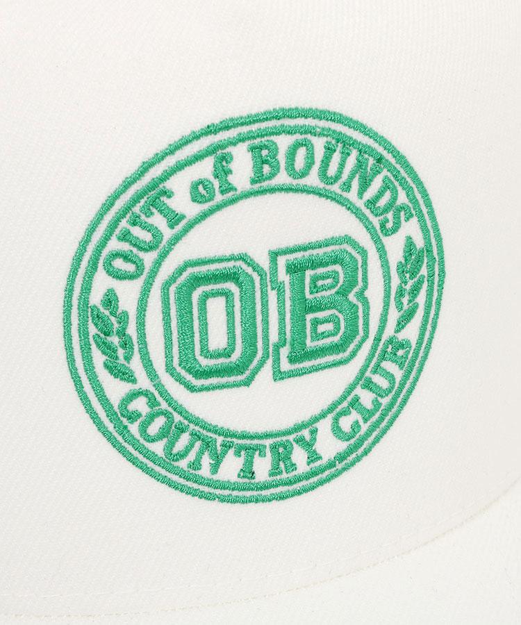 BC 「OB」パネルロゴ入りメッシュキャップのコーディネート写真