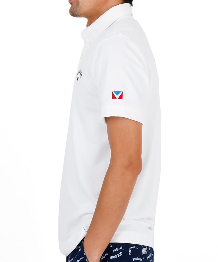 CA 肌ドライ◆定番ポロシャツのコーディネート写真
