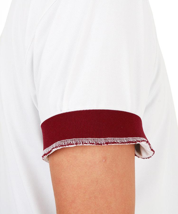 DM シリコンパッチ付ポロシャツのコーディネート写真