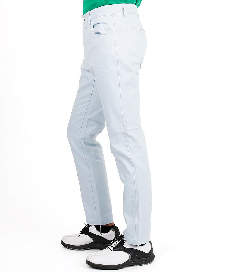 JB ホワイトステッチ◆ドビー織ストレッチパンツのコーディネート写真