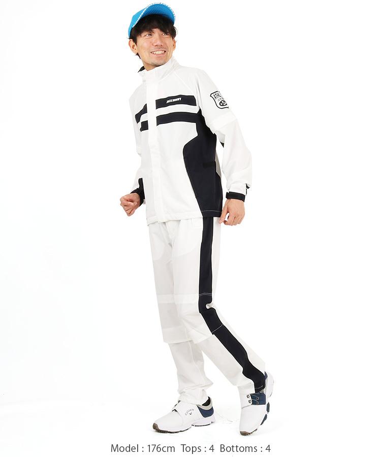 JB ポケッタブル耐水ウインドブレーカーのコーディネート写真