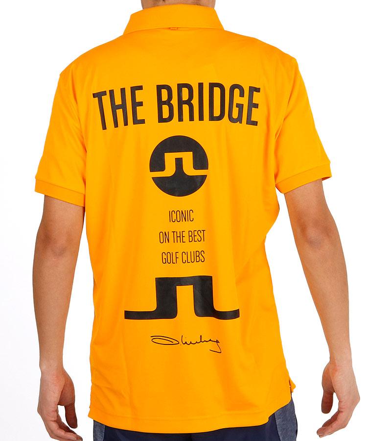 ジェイリンドバーグ JL 「TheBridge」ロゴ吸水速乾ポロ