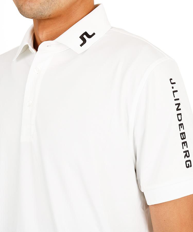 JL 「TheBridge」ロゴ吸水速乾ポロのコーディネート写真