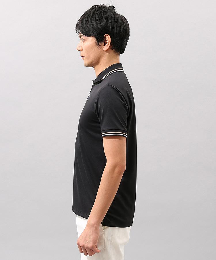 JR 衿ジャガード◆クラシックフィット半袖ポロのコーディネート写真