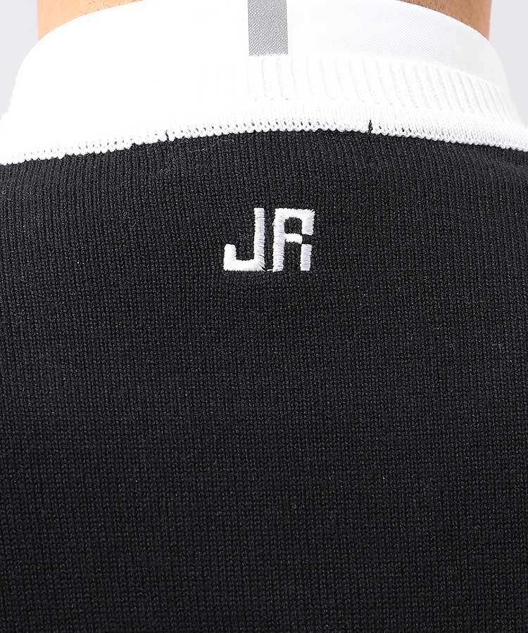 JR カラーブロックニットベストのコーディネート写真