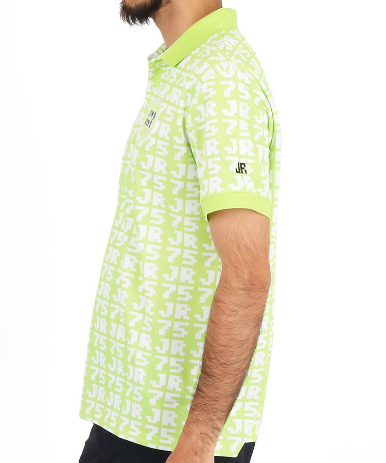 JR JR75柄プリントポロシャツのコーディネート写真