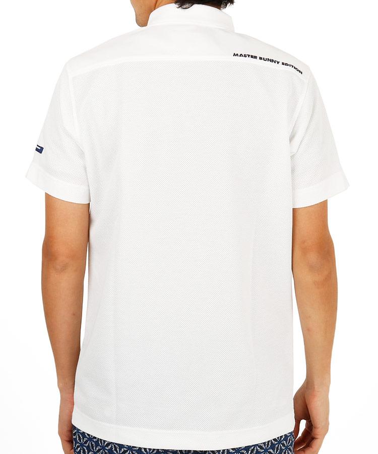 MB 鹿の子メッシュポロシャツのコーディネート写真