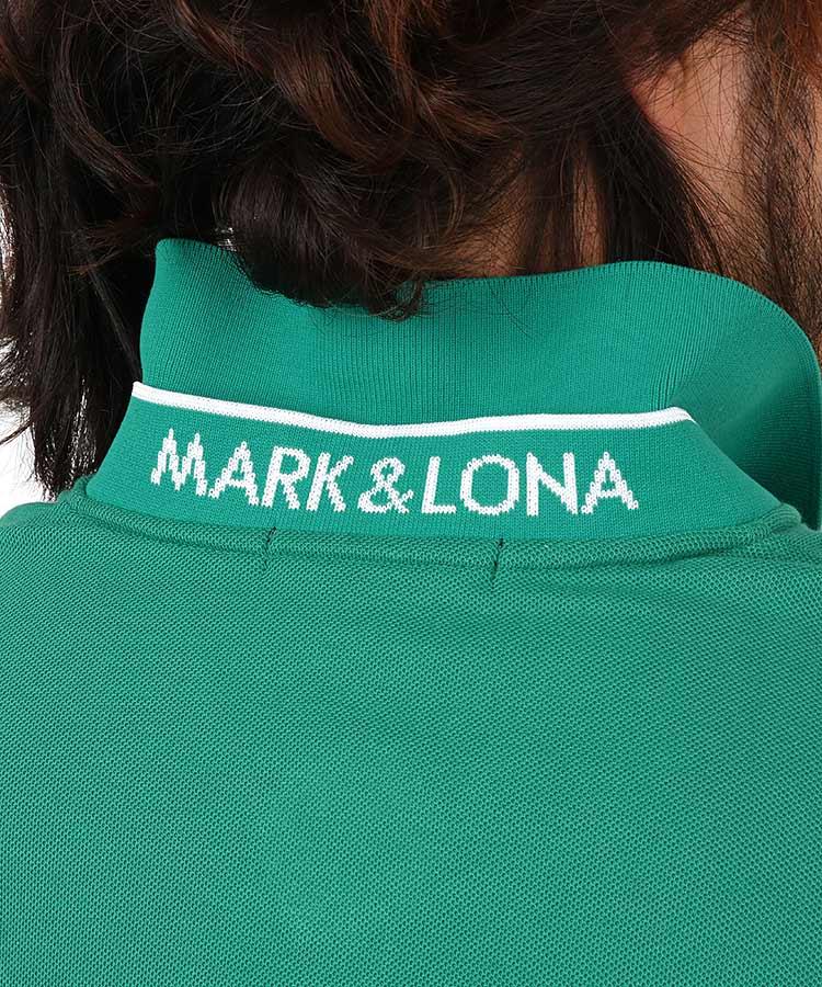 ML 定番◆ワンポイントスタンドネックポロのコーディネート写真