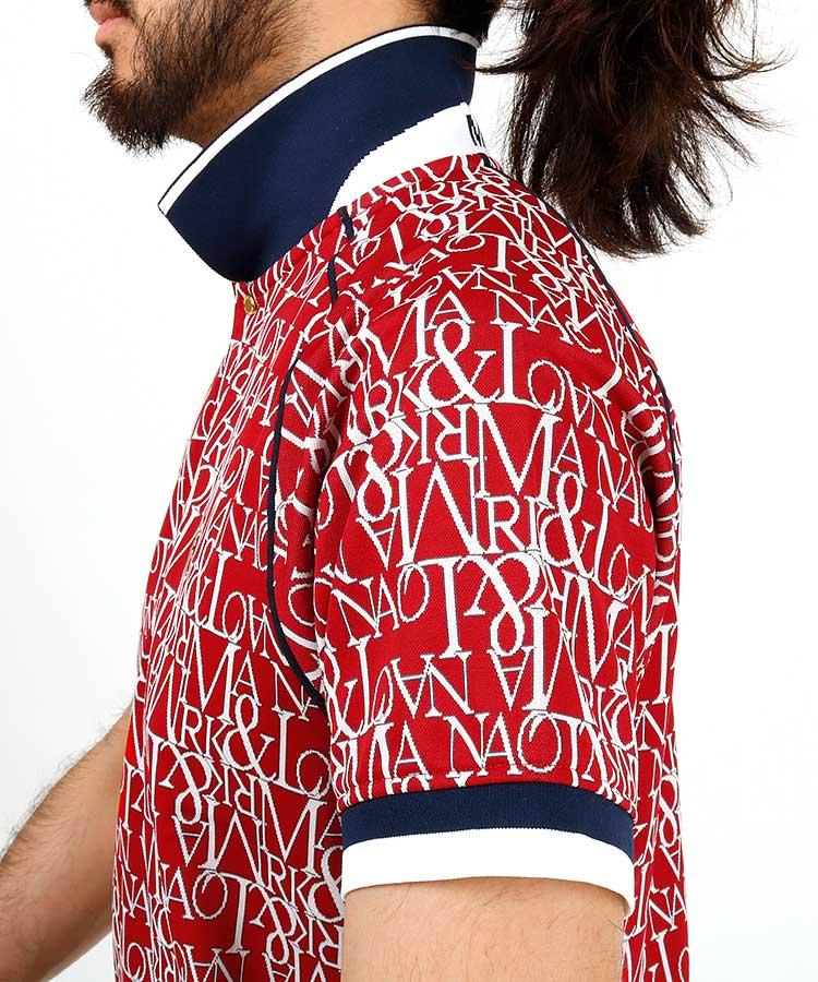ML Classicレタリングポロシャツのコーディネート写真