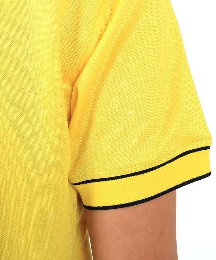 ML マイクロSkullエンボス◆ポロシャツのコーディネート写真