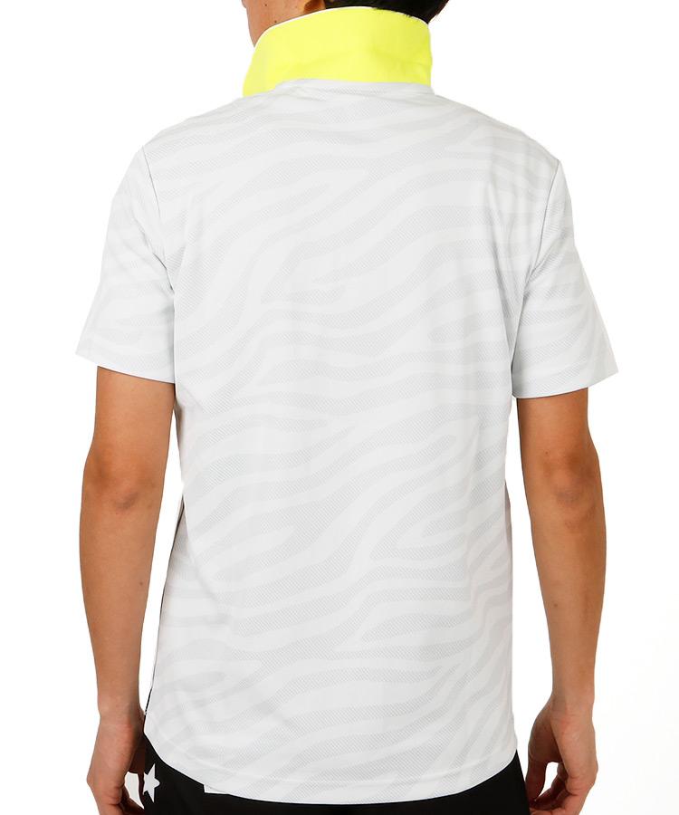 NB ゼブラプリント◆ポロシャツのコーディネート写真