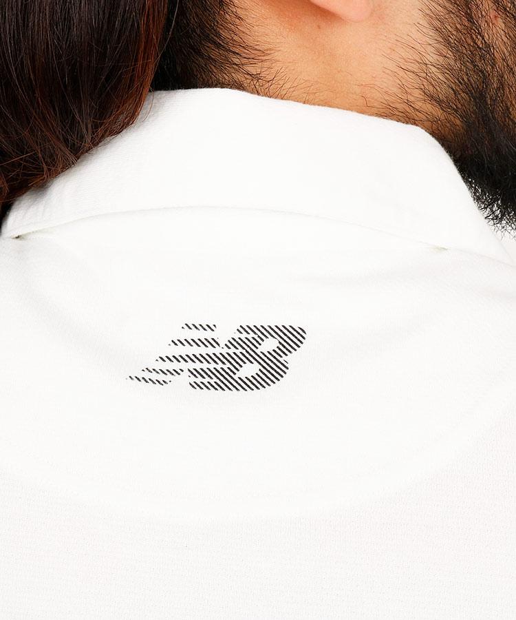NB バイアスストライプ◆ポロシャツのコーディネート写真