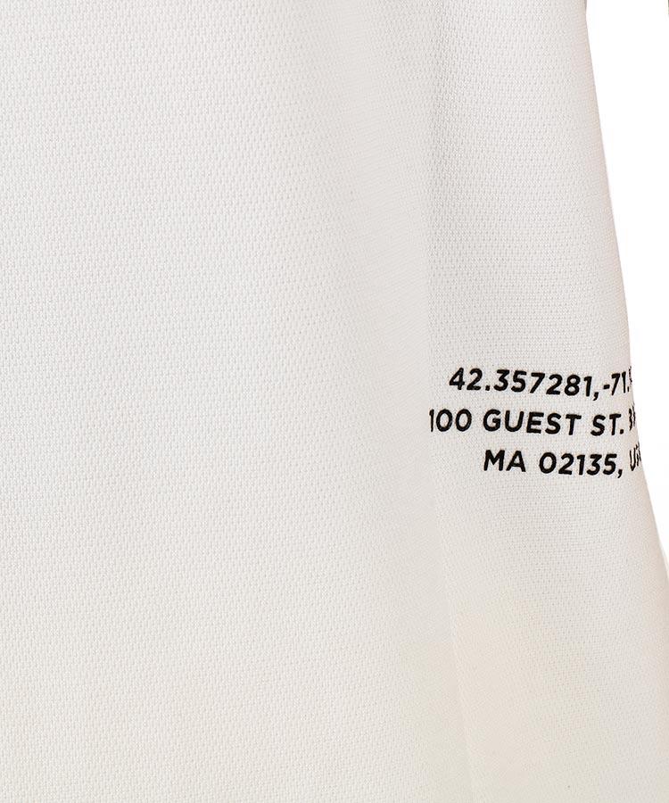 NB 渦レタリングロゴ◆ポロシャツのコーディネート写真