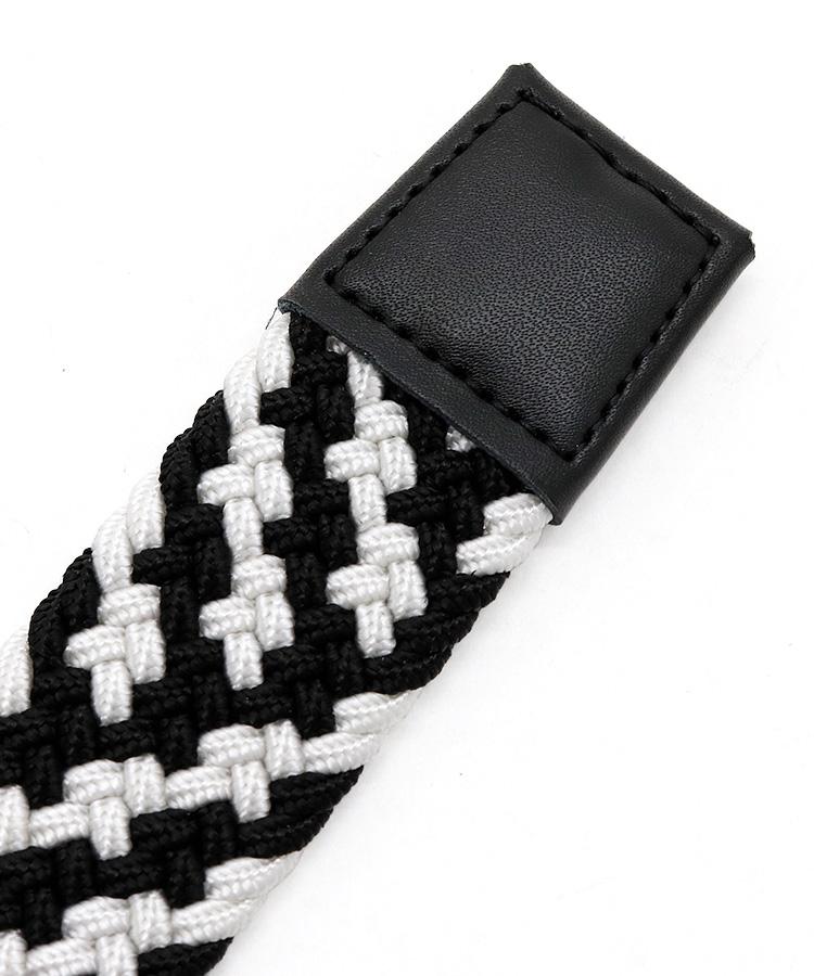 NE ストレッチゴム編み込みベルトのコーディネート写真