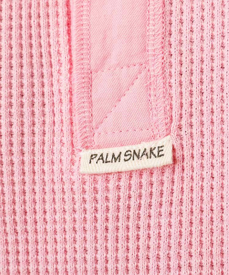 PA ワッフル地◆カラーポロシャツのコーディネート写真