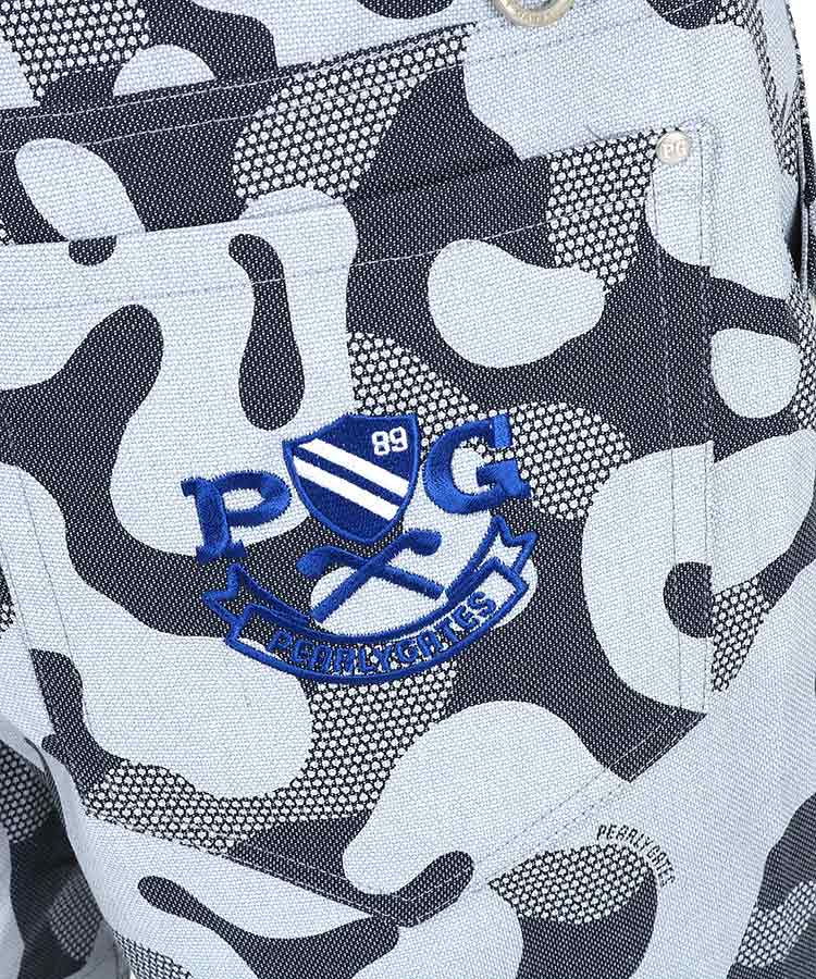 PG 接触冷感カモフラハーフパンツのコーディネート写真