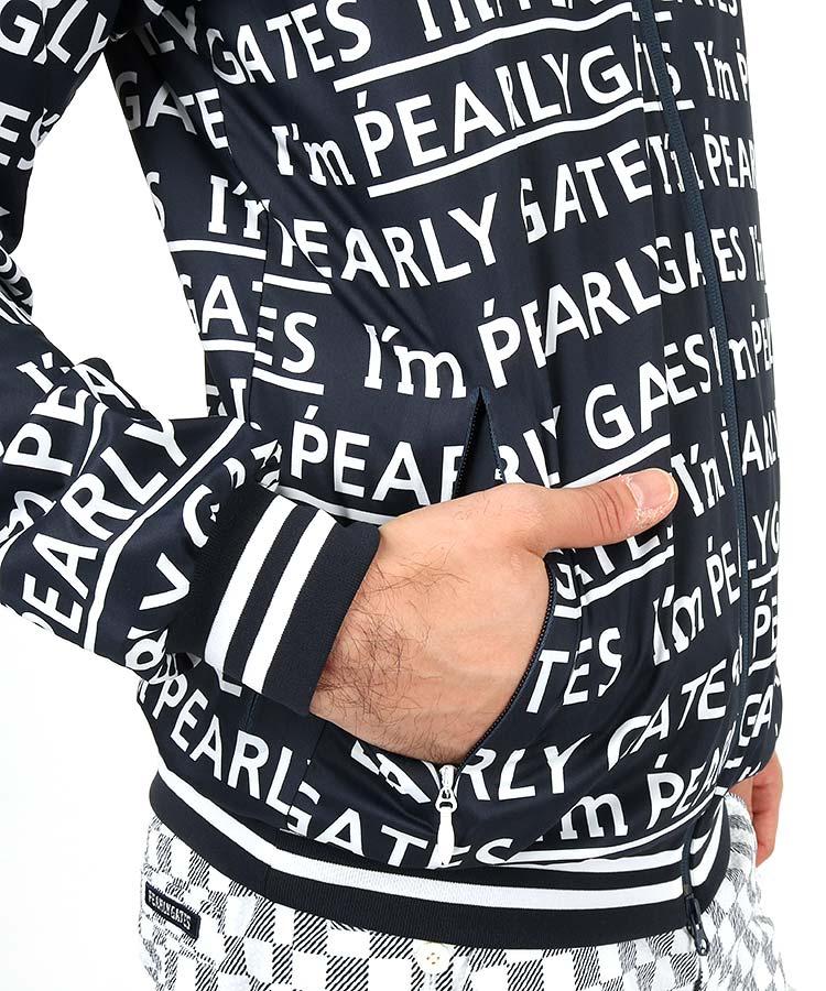 PG タフレックスストレッチドビー ロゴ柄プリントのコーディネート写真