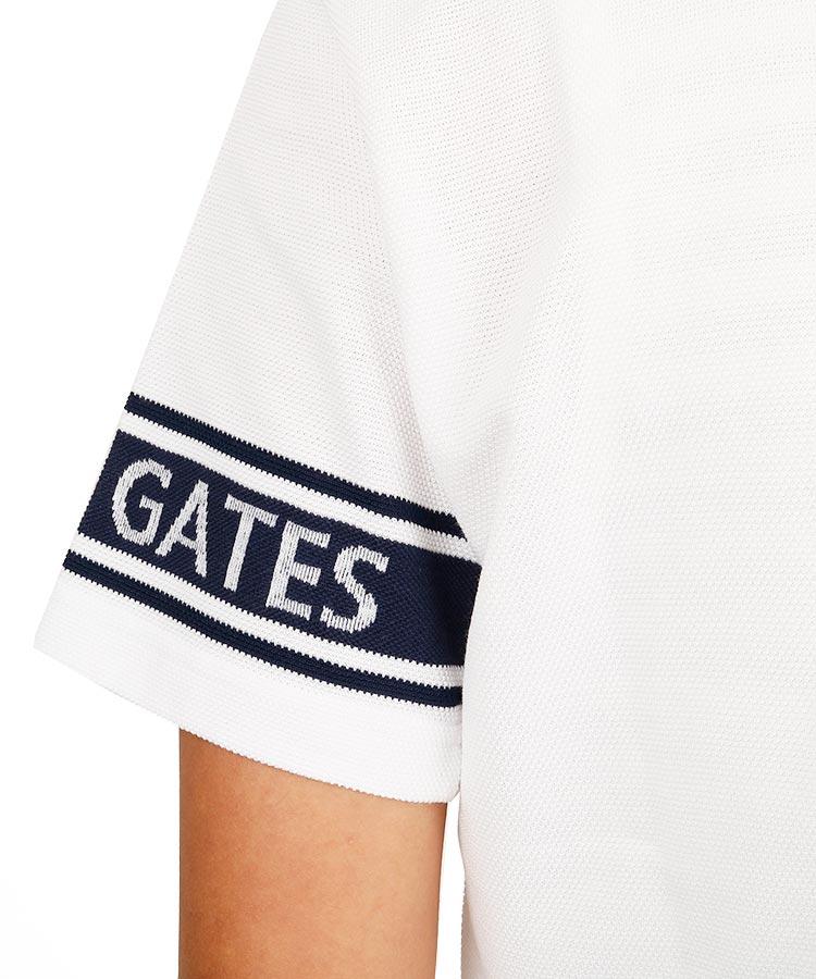 PG 袖ジャガードロゴ◆ポロシャツのコーディネート写真