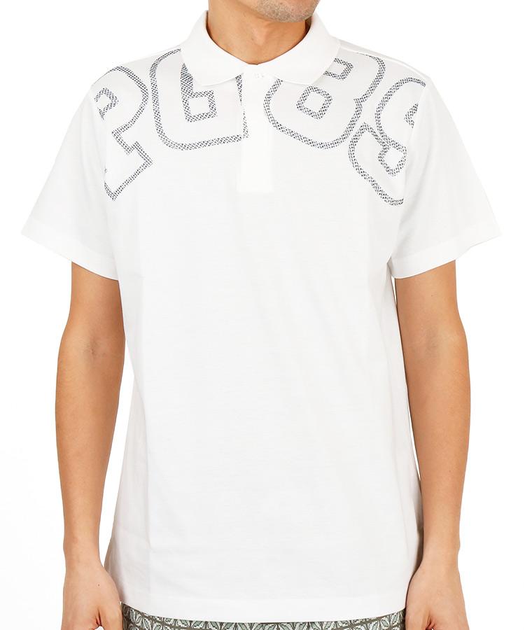パーリーゲイツ PG ビッグ「PG89」ロゴ◆ポロシャツ