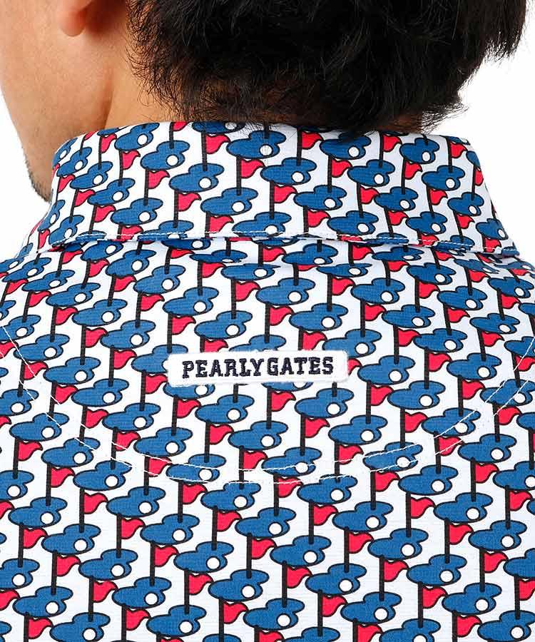PG グリーンFlag柄ポロシャツのコーディネート写真