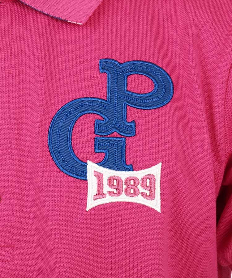 PG 吸水速乾◆クールタッチポロシャツのコーディネート写真