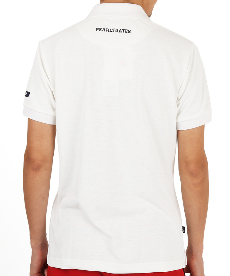 PG オールドロゴプリントDRYポロシャツのコーディネート写真
