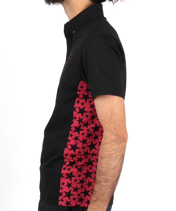 RD サイドSTARメッシュポロシャツのコーディネート写真