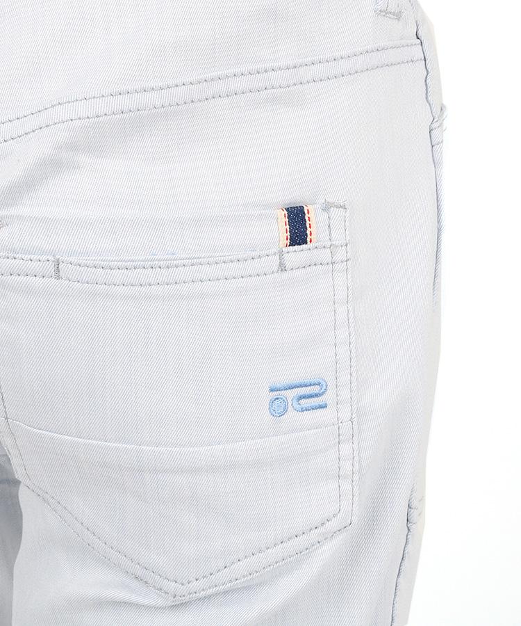 RO リバーシブル◆シャンブレー風パンツのコーディネート写真