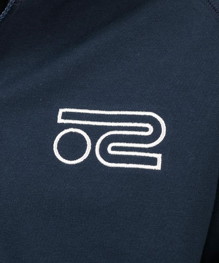 RO 防風スウェットパーカーのコーディネート写真