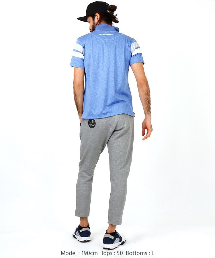 RO チェストライン◆ポロシャツのコーディネート写真