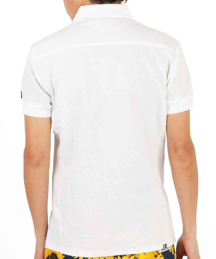 TV サッカー地ポロシャツのコーディネート写真