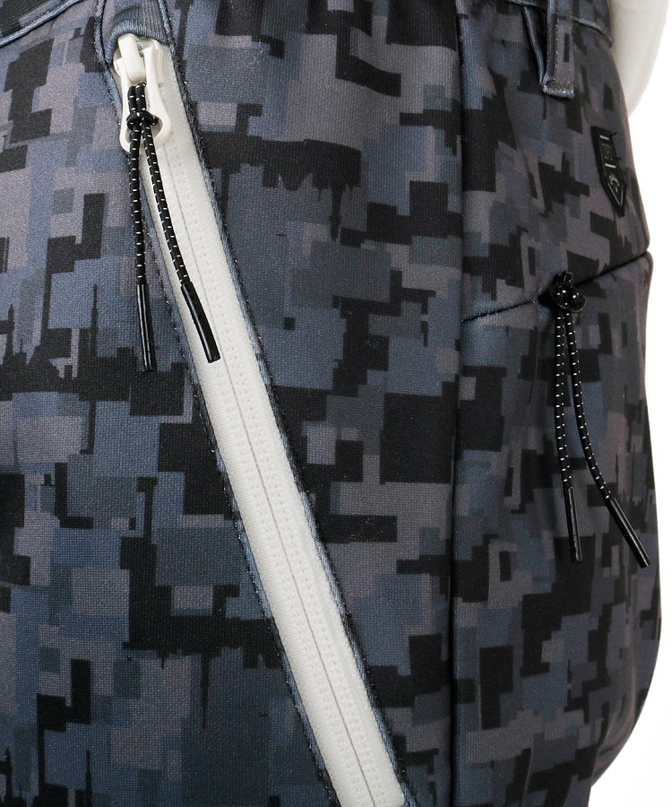 CA ダンボールニット◆ジョガーパンツのコーディネート写真