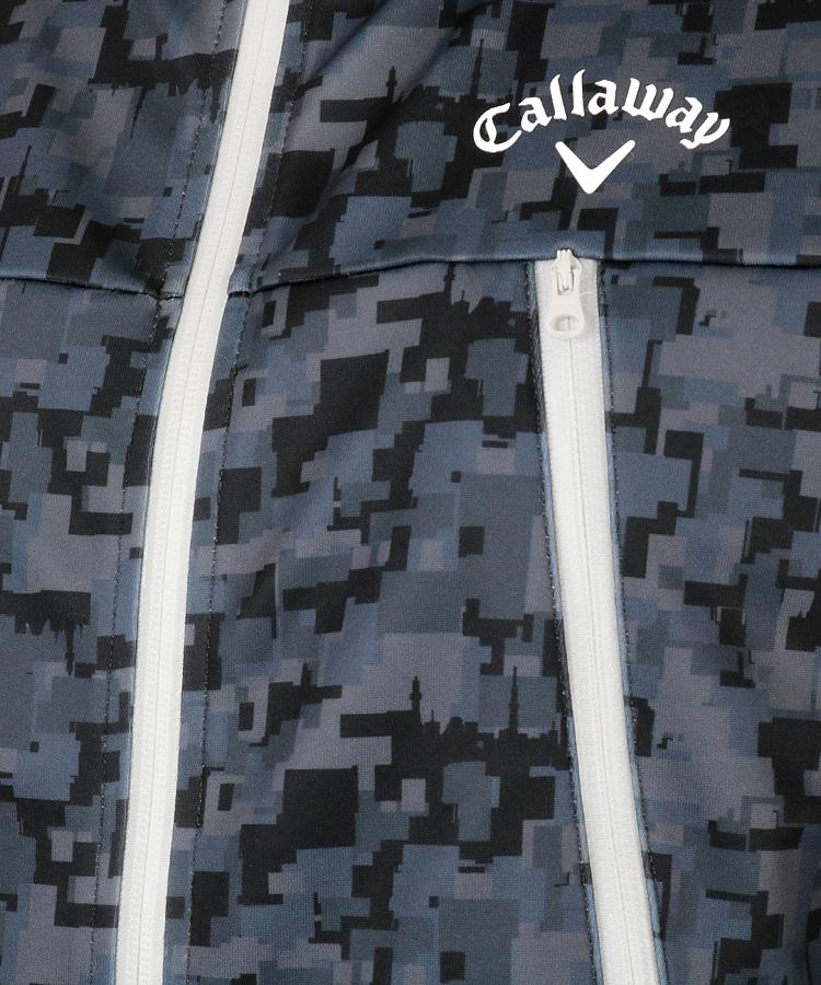 CA ダンボールニット◆ジップアップブルゾンのコーディネート写真