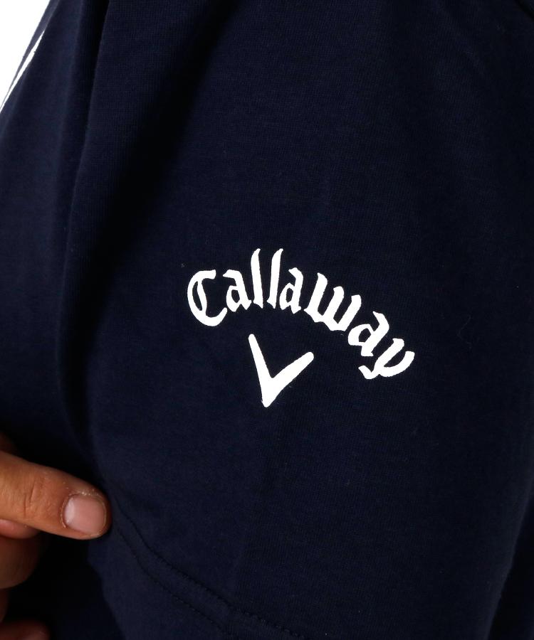 CA 冷感速乾◆半袖モックネックのコーディネート写真